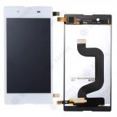 Дисплей Sony D2203/D2212 (E3/E3 Dual) в сборе с тачскрином Белый