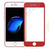 Стекло защитное Iphone 7 4D Красный