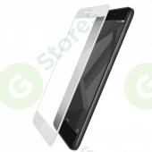 """Защитное стекло """"Полное покрытие"""" Xiaomi Redmi Note 4X Белое"""